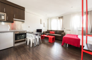 duplex 1 room terrace delicias