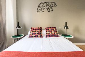 apartamento habitación delicias detalle cama