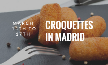 Gastronomic Days: Discover the croqueta in Madrid
